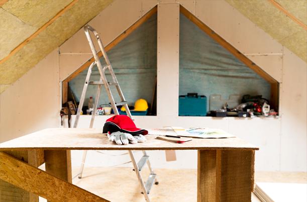 Hoe zelf dak isoleren?